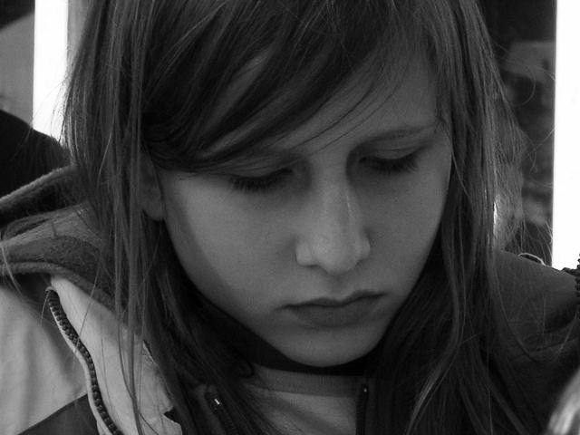 Depressziós kamaszok