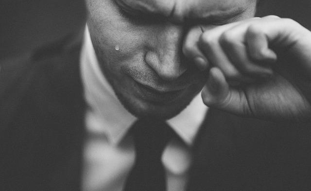 A férfiak nem sírhatnak. Miért?