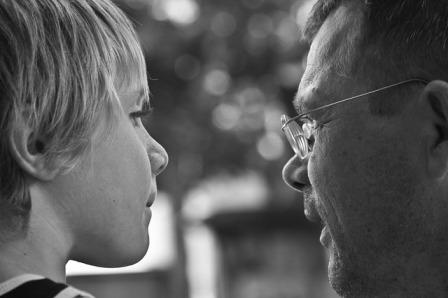 Egyedülálló apa és az új barátnő